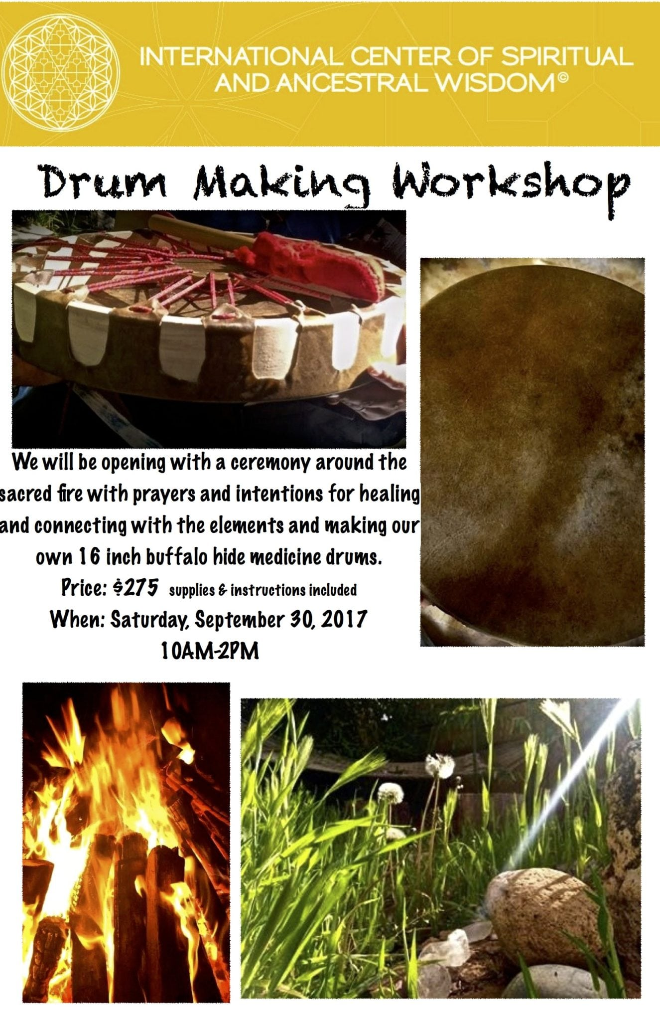 Drum Workshop Sept 2017