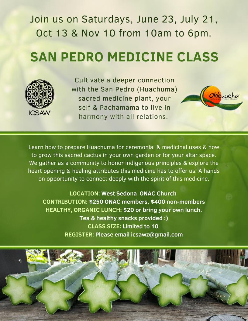 SAN PEDRO MEDICINE CLASS